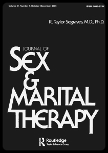 Journal of Sex & Marital Therapy - Dr. Reef